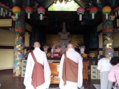 ドンホン 公式ブログ/韓国のお寺 画像2