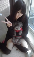 岡 梨紗子 公式ブログ/わんころん 画像1
