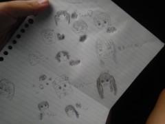 岡 梨紗子 公式ブログ/似顔絵 画像1