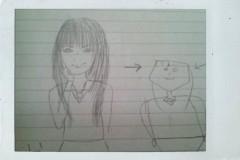 岡 梨紗子 公式ブログ/絵が下手なんです。 画像2
