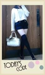 岡 梨紗子 公式ブログ/レトロ風Code 画像1