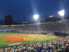 友田里奈 公式ブログ/5/24 巨人vsDeNA 画像2