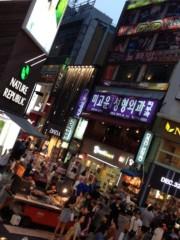 ヒロシ 公式ブログ/韓国に 画像1