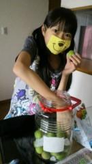 小田美夢 公式ブログ/梅酒づくり手伝いました! 画像1