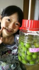 小田美夢 公式ブログ/梅酒づくり手伝いました! 画像3