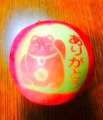 山咲トオル 公式ブログ/( ^-^)ノ∠※。.:*:・'°☆りんご。 画像1