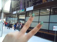蝦名 恵 公式ブログ/出発 画像1