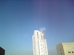 星ちはや プライベート画像 東京の空