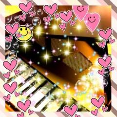 濱地恵 プライベート画像 グランドピアノ