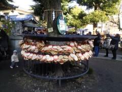 YUKA 公式ブログ/今戸神社の江原さん3 画像1