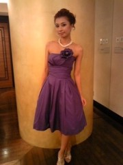 YUKA 公式ブログ/今日は結婚式 画像3