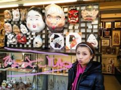 YUKA 公式ブログ/今戸神社の江原さん1 画像2