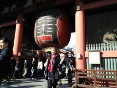 YUKA 公式ブログ/今戸神社の江原さん1 画像1