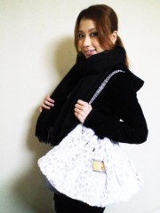 YUKA 公式ブログ/CHEERのヒョウ柄ファーショルダーバッグ 画像1