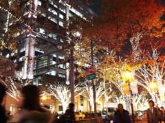 YUKA 公式ブログ/神宮外苑いちょう祭り〜ライトアップされた表参道のX'MASイルミネーション 画像1