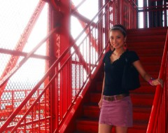 YUKA 公式ブログ/東京タワーから見たスカイツリー 画像3