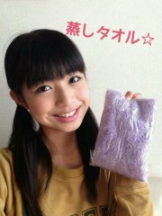 X21 公式ブログ/蒸しタオル☆ 画像1