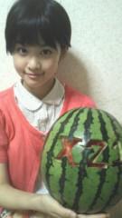 X21 公式ブログ/スイカ(´ψψ`) 画像1