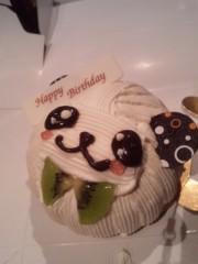 伊藤薫 公式ブログ/誕生日ケーキ 画像1