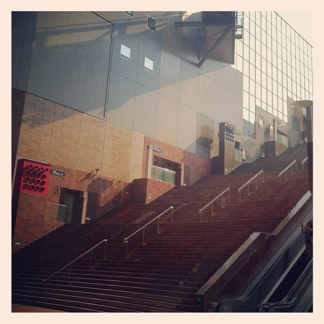 大階段in京都駅