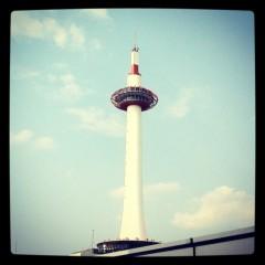 五十嵐 康平 プライベート画像 京都タワー