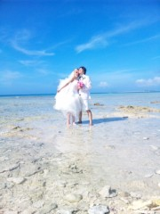 中地高子 公式ブログ/沖縄・慶良間でブライダル撮影Part.1 画像3