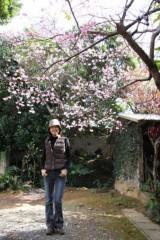 中地高子 プライベート画像 IMG_4941桜t