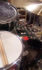 UNA(ナナカラット) 公式ブログ/ドラムレコーディング 画像1