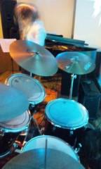 UNA(ナナカラット) 公式ブログ/ドラムセットが久しぶりのタム二つ! 画像1