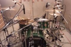 UNA(ナナカラット) 公式ブログ/ドラム録りまくったぜ☆ 画像1