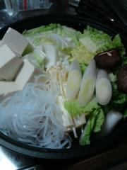 光塚大貴 公式ブログ/お鍋で身体をポカポコ〜 画像1
