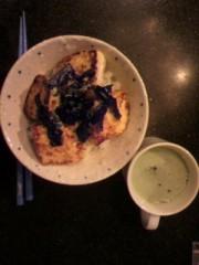 桜井恵美 公式ブログ/お豆腐の蒲焼き丼 画像1