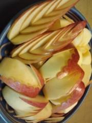 川井つと 公式ブログ/リンゴの切り方 画像1