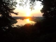 川井つと 公式ブログ/夕焼け 画像1