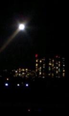 川井つと 公式ブログ/ビルとお月様 画像1