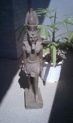 川井つと 公式ブログ/ラムセス二世の石像&壁画 画像1