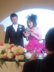 ジョニー志村 公式ブログ/後輩の結婚式 画像1