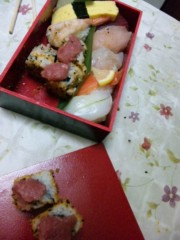 末吉幸乃 公式ブログ/お寿司♪ 画像1
