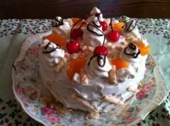 あずな 公式ブログ/ケーキ! 画像1