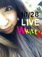 あずな 公式ブログ/10/28☆初ライブ! 画像1