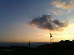 あずな 公式ブログ/秋の空 画像1