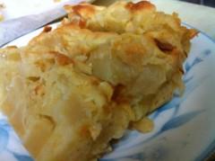 あずな 公式ブログ/りんごパウンドケーキ☆ 画像1