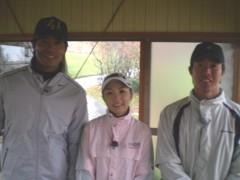 稲葉篤紀 公式ブログ/ゴルフ収録 画像2