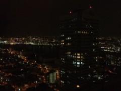 義達祐未 公式ブログ/2012初日の夜景を。 画像1