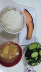 白井優 公式ブログ/朝定食(*'〜 '*) 画像1