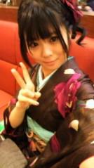 小松菜都 公式ブログ/(*゜∀゜){ 振袖】 画像1