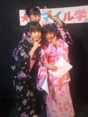 飯田ゆか 公式ブログ/浴衣で収録 画像2