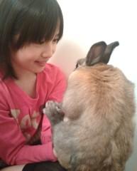 飯田ゆか 公式ブログ/うさぎ年だね^^ 画像1
