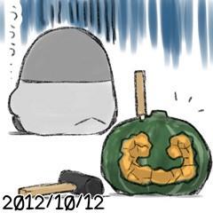 ぺそぎん 公式ブログ/あのかぼちゃが… 画像1