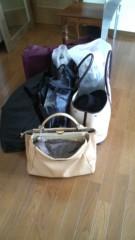 倉本康子 公式ブログ/今からの撮影へ持って行く荷物 画像1